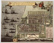 Dutch Batavia in the 17th Century, built in what is now North Jakarta