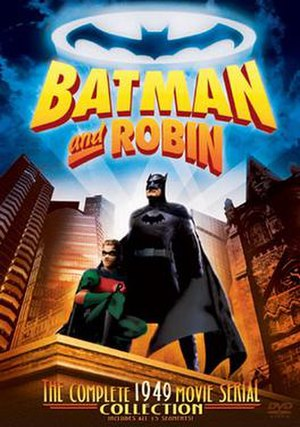 Batman and Robin (serial) - DVD cover