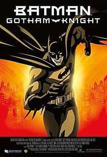<i>Batman: Gotham Knight</i> Japanese animated superhero anthology film about Batman