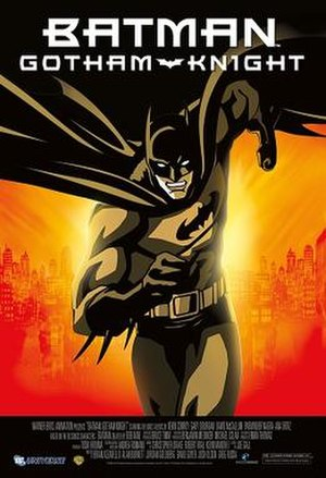 Batman: Gotham Knight - Home video release poster