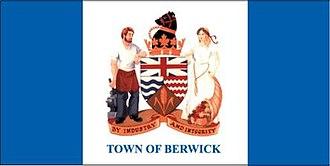 Berwick, Nova Scotia - Image: Berwick NS flag