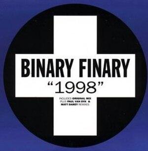 1998 (instrumental) - Image: Binary Finary Nineteen Ninety Eight Cover Art