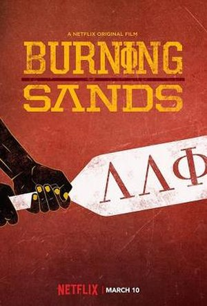 Burning Sands (2017 film) - original film poster
