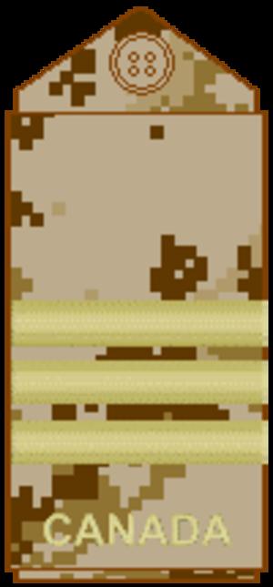 Lieutenant-colonel (Canada) - Image: CADPAT arid L Col