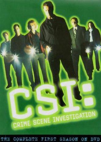 CSI: Crime Scene Investigation (season 1) - Season 1 U.S. DVD cover