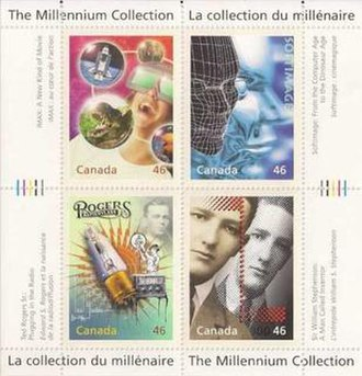 Canada Post millennium stamps - Image: Canada Millenium Collection