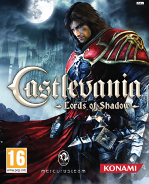 Castlevania: Lords of Shadow - European box art