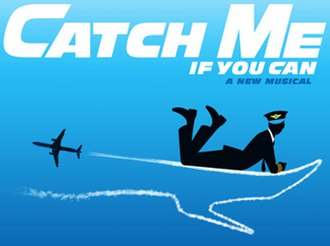 Catch Me If You Can (musical) - Official logo