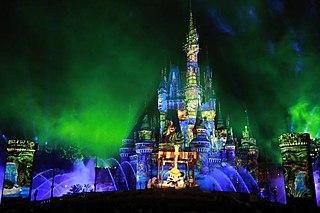 <i>Celebrate! Tokyo Disneyland</i> nighttime spectacular at Tokyo Disneyland