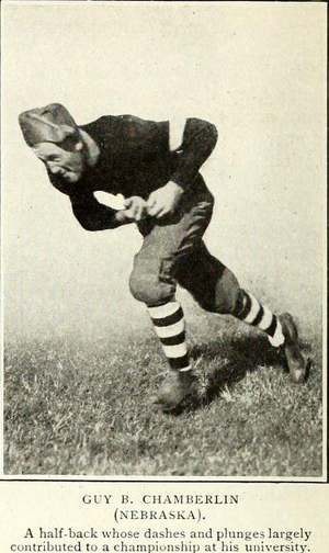 Guy Chamberlin - Chamberlain at Nebraska.