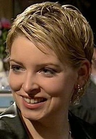 Charity Dingle - Charity as she appeared in her first episode (2000)