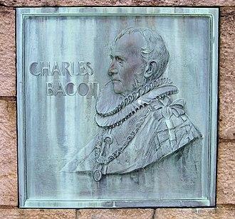 Rush–Bagot Treaty - Plaque to Charles Bagot, British diplomat, at Old Fort Niagara