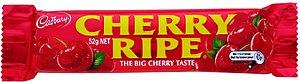 Cherry Ripe (chocolate bar) - Image: Cherry Ripe Wrapper Small
