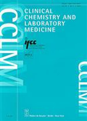 Clinical Chemistry and Laboratory Medicine - Image: Clinical Chemistry and Laboratory Medicine cover