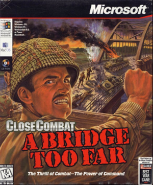 Close Combat: A Bridge Too Far - Image: Close Combat A Bridge Too Far Coverart