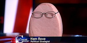Colbert Super PAC - The recurring character 'Ham Rove'