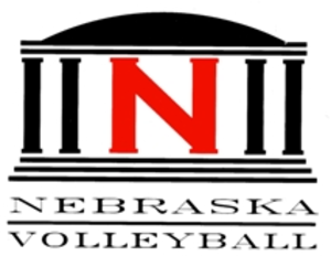 Nebraska Cornhuskers women's volleyball - Husker Volleyball Coliseum logo