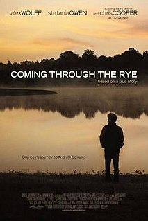 <i>Coming Through the Rye</i> (film) 2015 American drama film