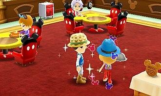 Disney Magical World - Image: DMW Gameplay