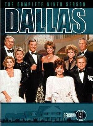 Dallas (1978 TV series) (season 9) - Image: Dallas (1978) Season 9 DVD cover
