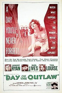 <i>Day of the Outlaw</i> 1959 film by André de Toth