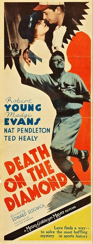 Death on the Diamond - Image: Death on the Diamond Film Poster
