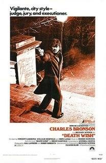 <i>Death Wish</i> (1974 film) 1974 film by Michael Winner