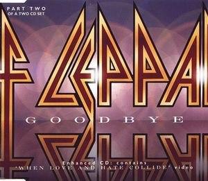 Goodbye (Def Leppard song) - Image: Def Leppard Goodbye 2