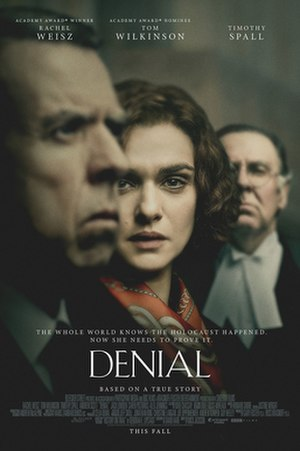 Denial (2016 film) - Theatrical release poster
