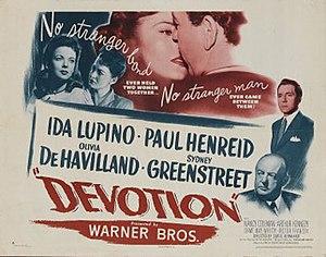 Devotion (1946 film) - Image: Devotion 1946 Poster