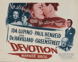 <i>Devotion</i> (1946 film) 1946 film directed by Curtis Bernhardt