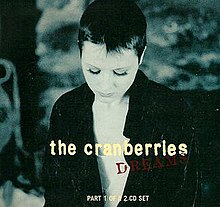 Dreams by The Cranberries 1994 UK European CD rerelease.jpg