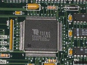 Tseng Labs ET4000 - The Tseng ET4000AX chip
