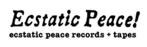 Ecstatic Peace! - Image: Ecstaticpeacelogo