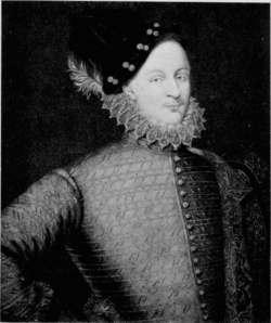 The Earl of Oxford, from the 1914 publication English Travellers of the Renaissance by Clare Howard