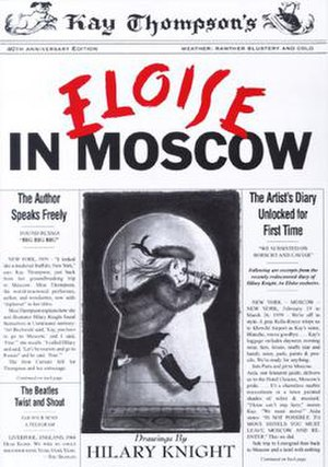 Eloise in Moscow - Eloise in Moscow book cover