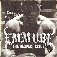 """Angle on the cover of Emmure's """"The Respect Issue."""""""