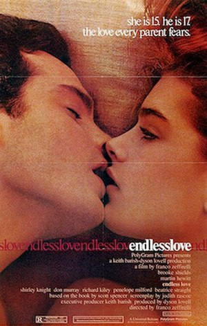 Endless Love (1981 film) - Theatrical release poster