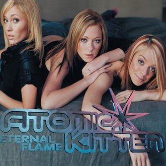 Eternal Flame (song) - Image: Eternal Flame by Atomic Kitten CD