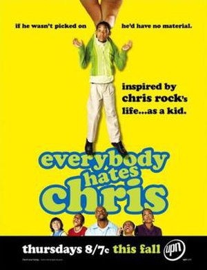 Everybody Hates Chris - First promotional poster