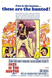 <i>Fate Is the Hunter</i> (film) 1964 film by Ralph Nelson