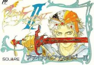 Final Fantasy II - Image: Ff 2cover