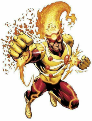 Firestorm (comics) - The Ronnie Raymond/Martin Stein version of Firestorm. Art by Yıldıray Çınar.