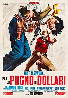 <i>A Fistful of Dollars</i> 1964 film by Sergio Leone