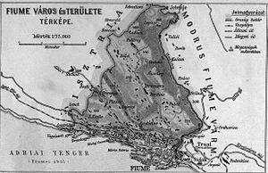 History of Rijeka - The corpus separatum