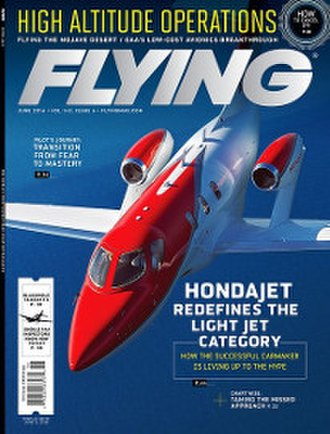 Flying (magazine) - Flying cover