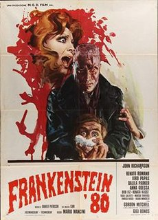 <i>Frankenstein 80</i> 1972 film by Mario Mancini