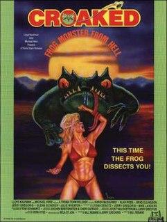 <i>Croaked: Frog Monster from Hell</i> 1982 film by Bill Rebane