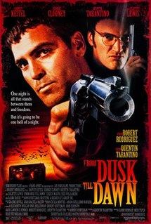 <i>From Dusk till Dawn</i> 1996 film by Robert Rodriguez and Quentin Tarantino