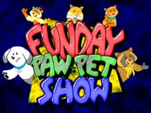 Funday PawPet Show - Image: Funday Paw Pet Show logo